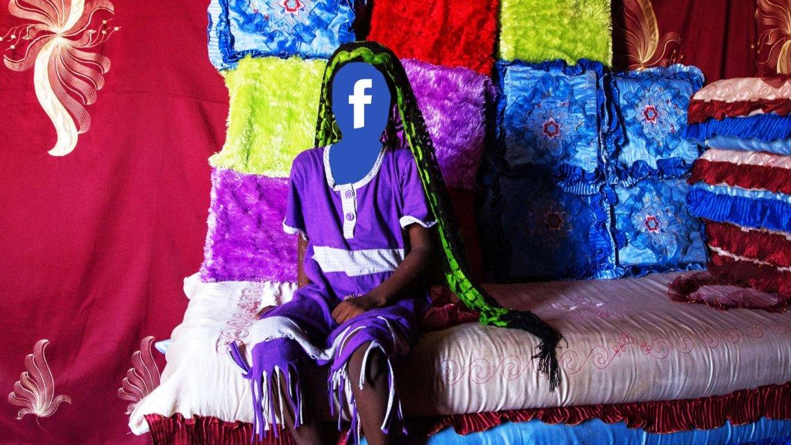 Kindbruiden in Afrika worden op Facebook geadverteerd en aan oude mannen verkocht