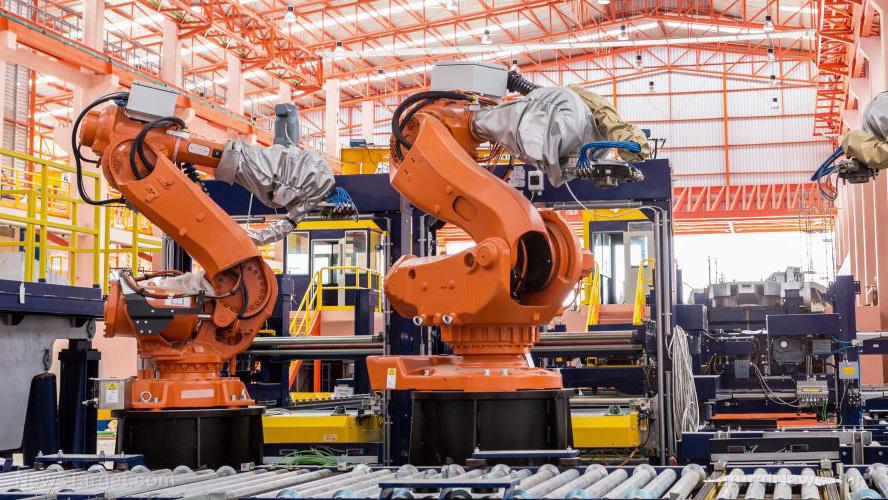 Naar schatting 500.000 bouwtaken zullen in 2020 worden vervangen door robots