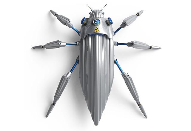 """Insecten werden """"zachte robots"""" omdat ze kunstmatige apparaten op hun rug hebben"""