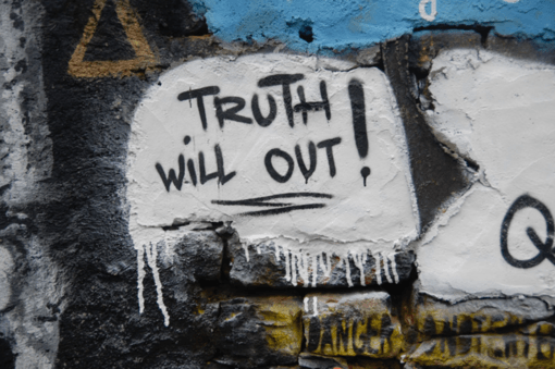 """Washington's grootste sprookje: """"Truth will out"""""""