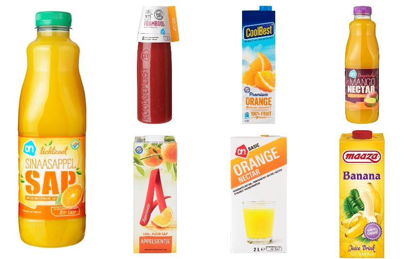 Vruchtensap: suiker in vloeibare vorm