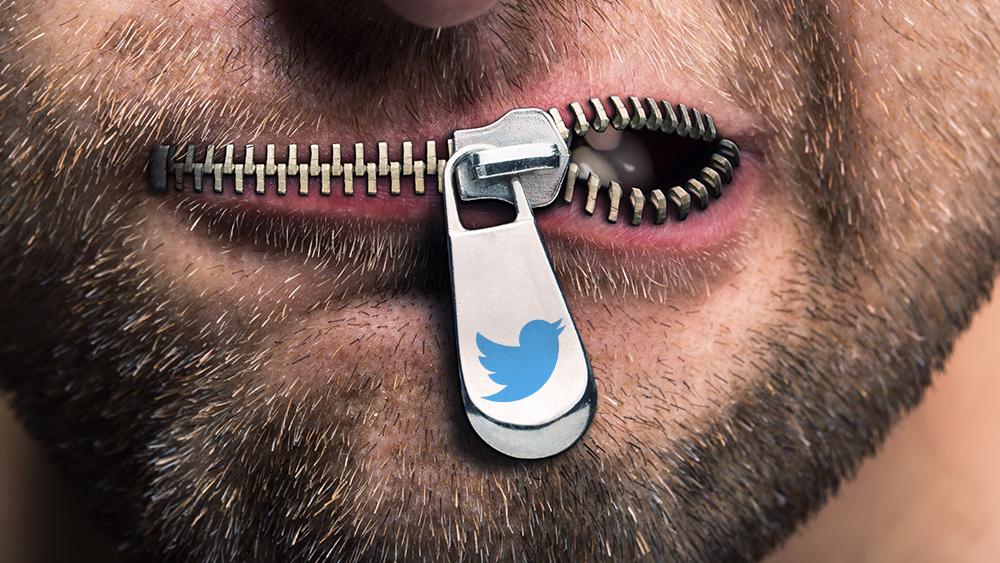 Censuur is de manier waarop een dictatuur – en GEEN democratie – functioneert