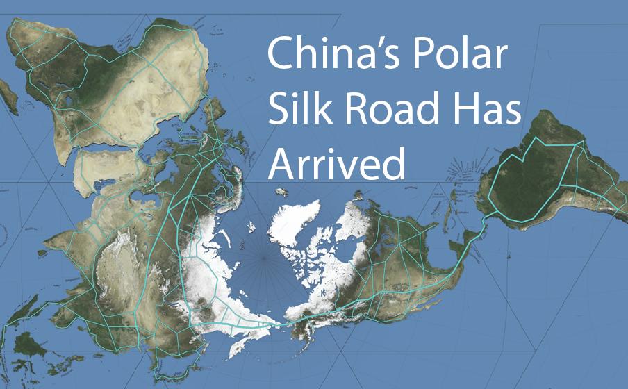 De Polar Silk Road komt tot leven als een nieuw tijdperk in de geschiedenis begint