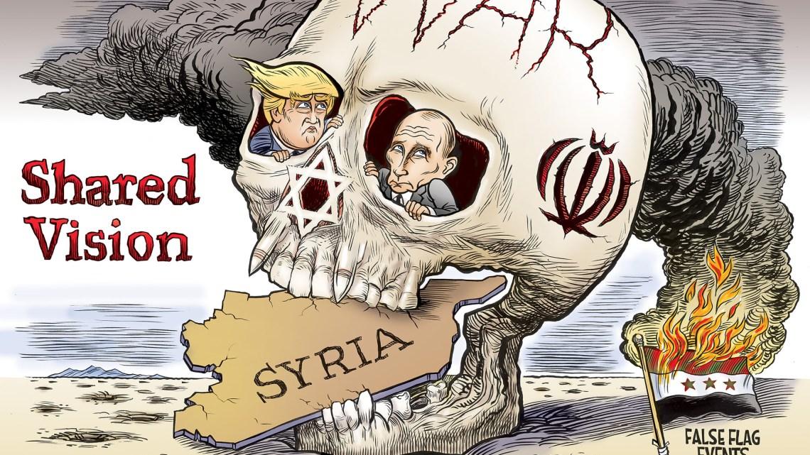 Van valse hoop tot valse vlaggen, Trump bepaalt het toneel voor wereldwijde oorlog