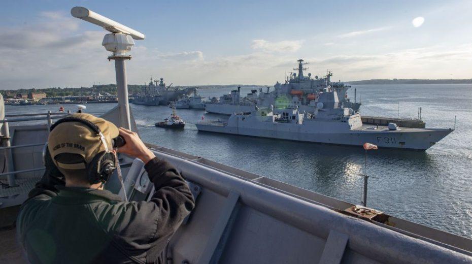 Koude Oorlog is volop terug in de Oostzee