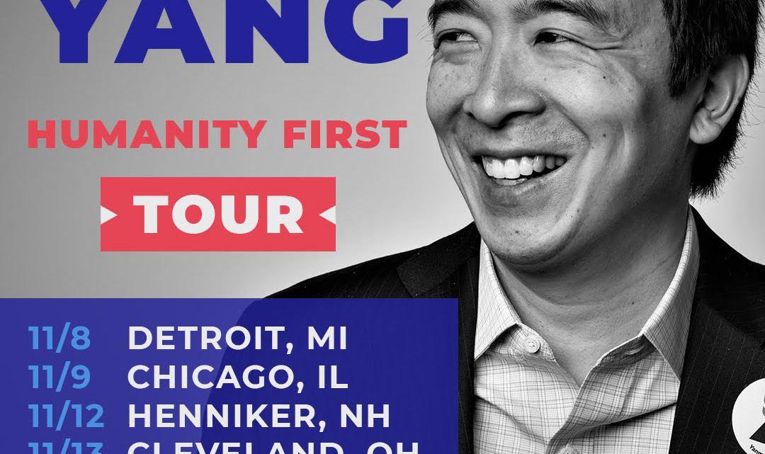 Andrew Yang een Trump in democraten jasje