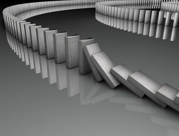 Een bank met 49 biljoen dollar in blootstelling aan derivaten smelt vlak voor onze ogen