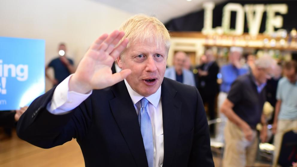 Boris Johnson  illusioneerd: dekbedden, tandenborstels en het House of Lords