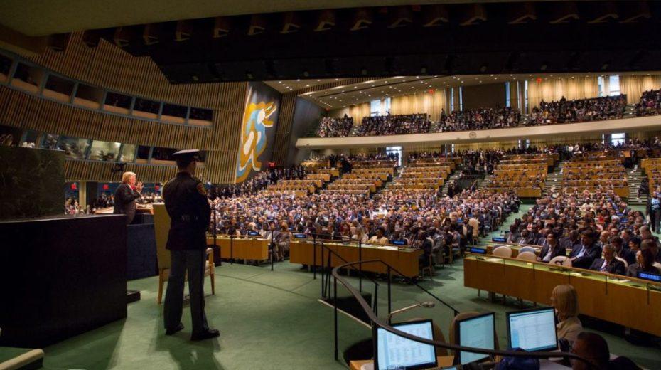 Een paar toetsaanslagen kunnen een VN-lidstaat elimineren