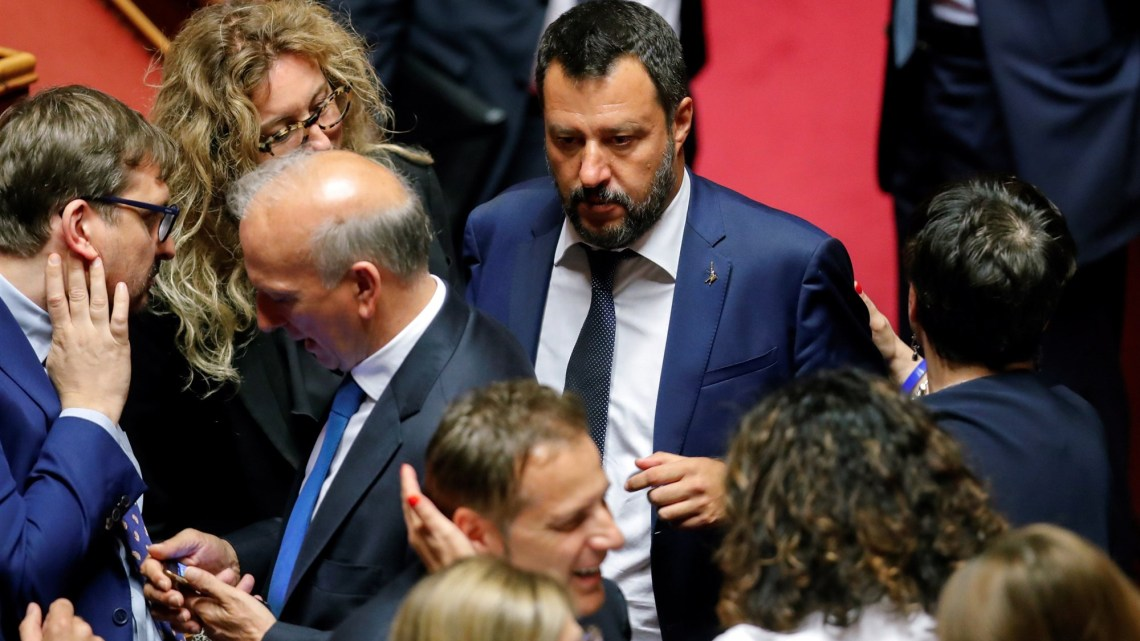 Salvini Jager of prooi?