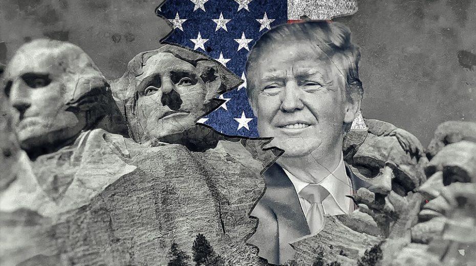 Trump Washington is tegen de wereld