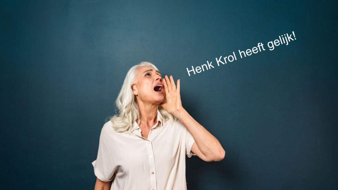 Krol leert Rutte een lesje over pensioen en heeft gelijk