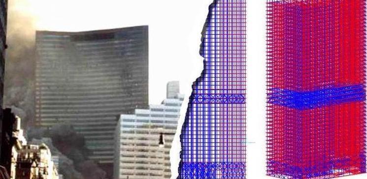 """LEUGENS: Grote universitaire studie  """"Vuur heeft toren 7 op 9/11 NIET laten instorten""""."""