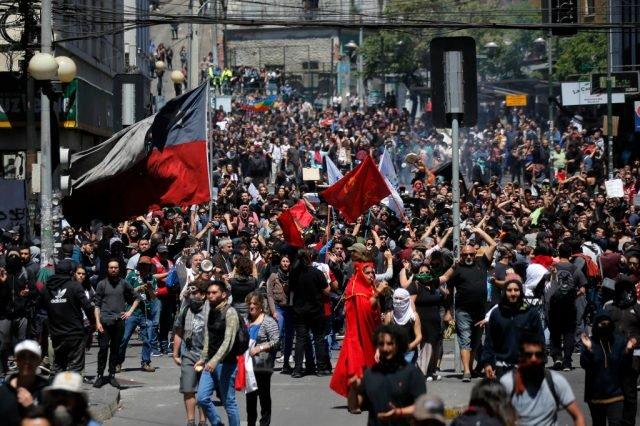 Zie hoe Chili een voorbeeld is van het kapitalistische dictatuur
