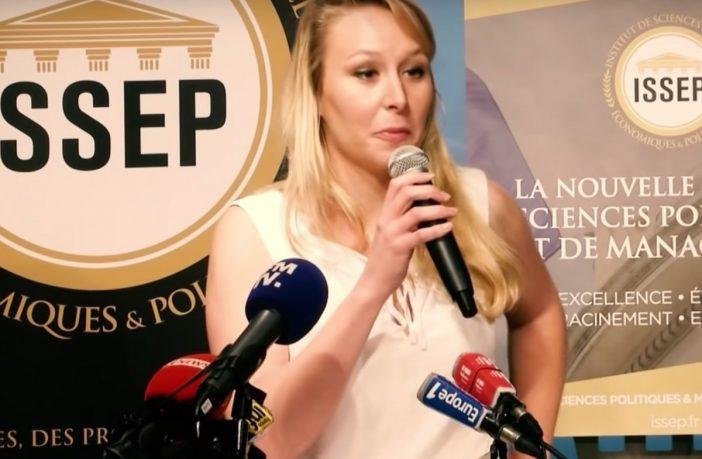 FRANKRIJK: Marion Maréchal, de nicht van Marine Le Pen, nu ook in actie tegen islam