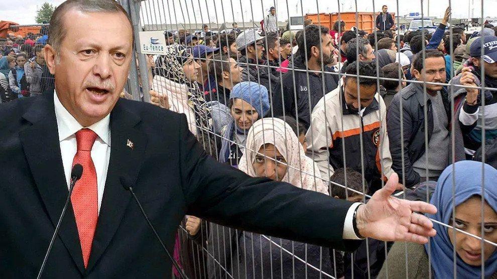 Nieuwe tsunami van vluchtelingen komt er aan: Turkije overspoelt ons met miljoenen migranten