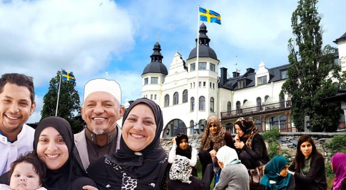 Zweden: Staat koopt voor Syrische polygamist met 16 kinderen drie villa's met uitzicht op zee