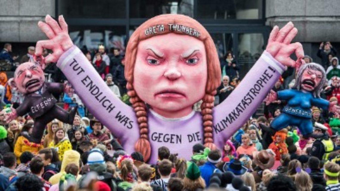 Wie zit er achter de jonge marionet klimaatactiviste Greta Thunberg?