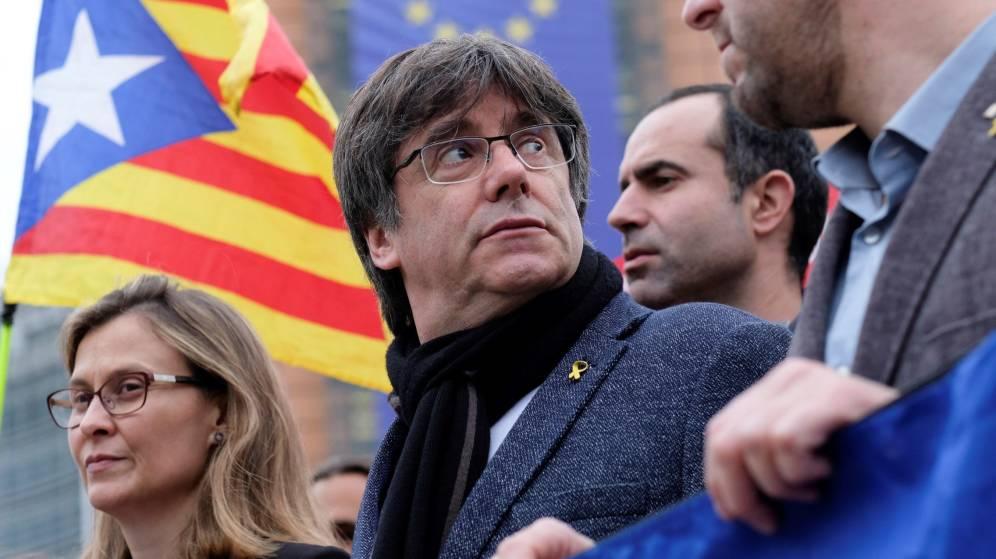 Catalaanse 'rebel' Puigdemont mag de gebouwen van het Europees Parlement niet meer betreden