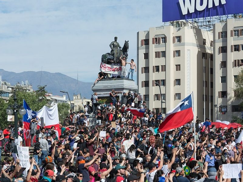 La primavera chilena (segunda parte): son treinta años, no treinta pesos
