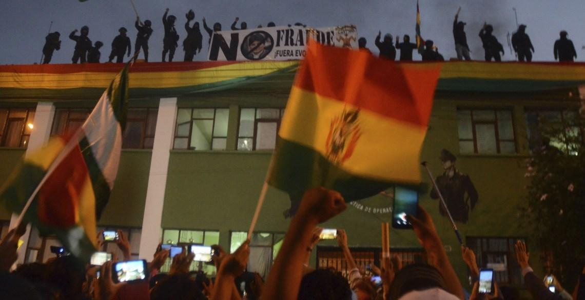 Weersta de coup tegen Evo Morales