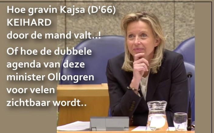 Bilderberg Kajsa Ollongren volledig ontmaskerd…!