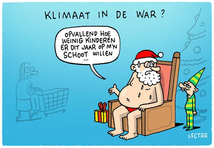 Klimaatnoodsituatie: vertel dat aan de Kerstman!