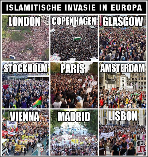 In 2019 ontdekten Europeanen dat staten hen niet langer beschermden tegen islamisering