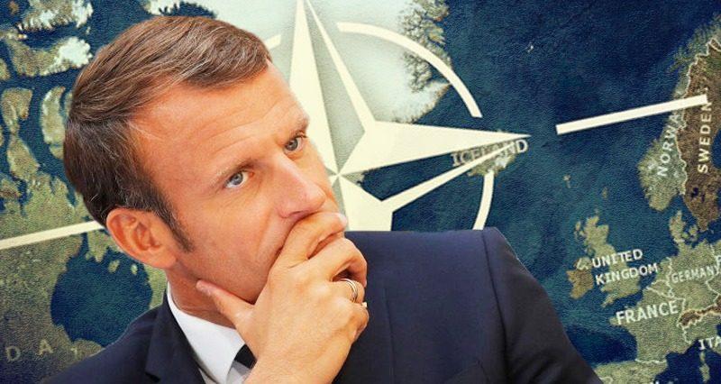 Macron maakt een crisis door