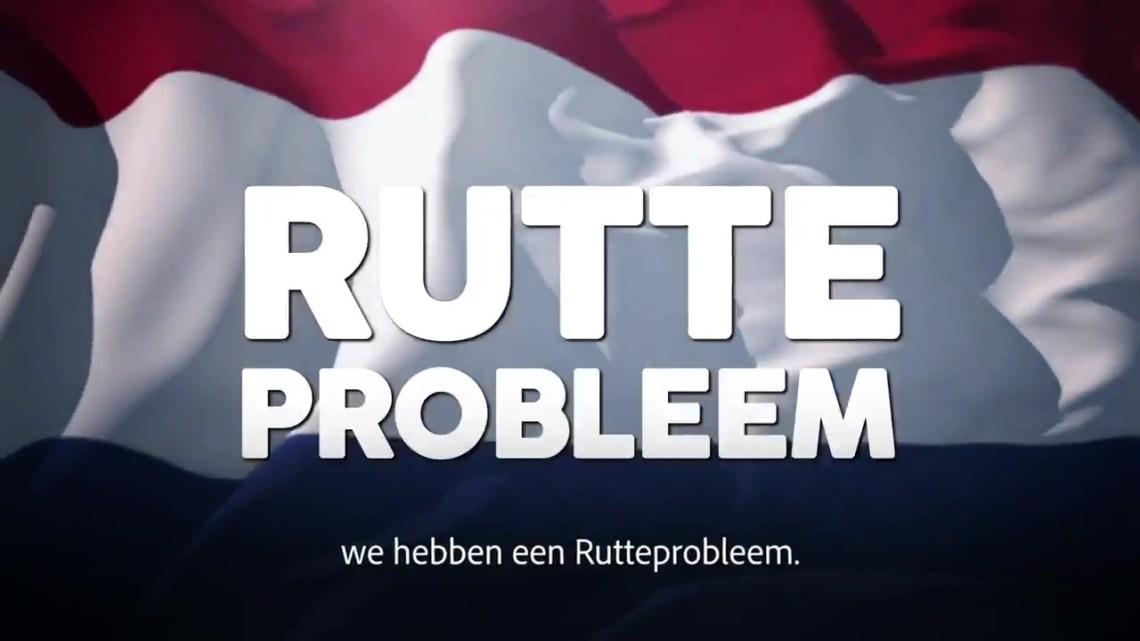 Wilders lanceert nieuw PVV-spotje met keiharde aanval op premier: 'We hebben een Rutte-probleem!'