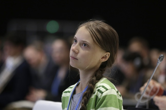 "Greta Thunberg, ""Crowd psychology"" toegepast op ecologie"