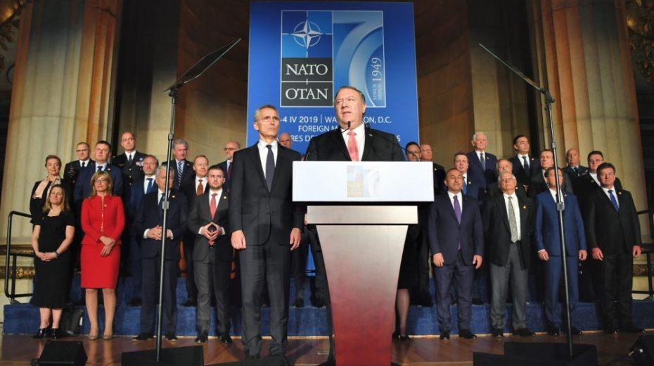 De NAVO noemt China als nieuw doelwit, naast Rusland