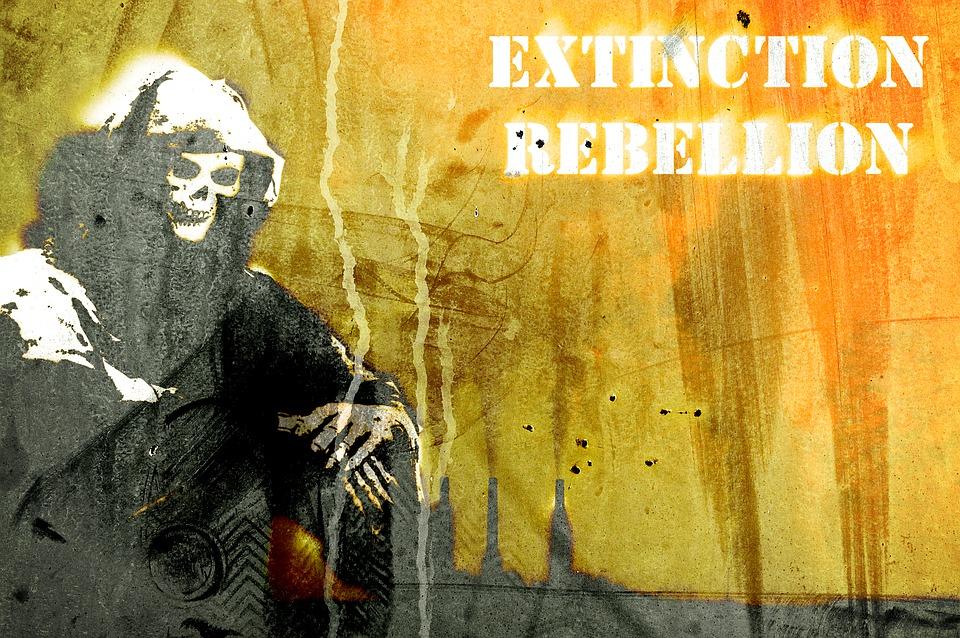 """""""Fridays for Future"""" moet zich duidelijk distantiëren van """"Extinction Rebellion"""" en Antifa!"""