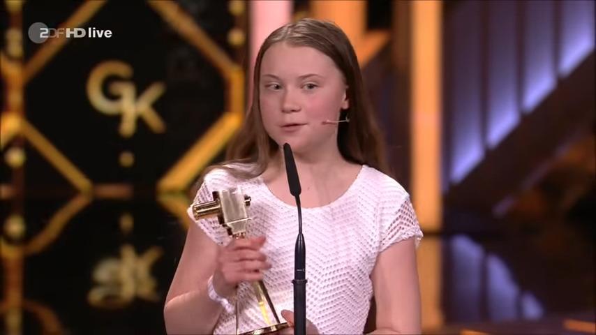 Klimaatkoningin Greta Thunberg uitgeroepen tot persoon van het jaar!