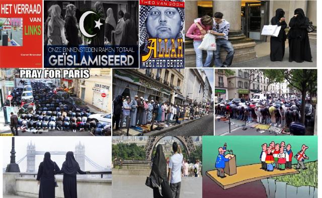 Islamisering van West-Europa gaat gewoon verder en burgeroorlog komt snel dichterbij