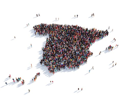 De bevolking van Spanje overschrijdt 47 miljoen dankzij immigratie, en dat is positief