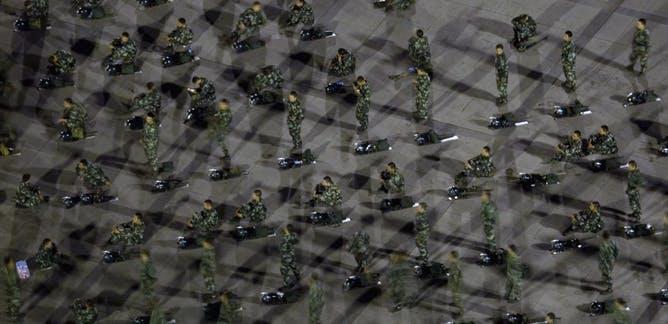 De onheilspellende metaforen van de Uighur-concentratiekampen in China