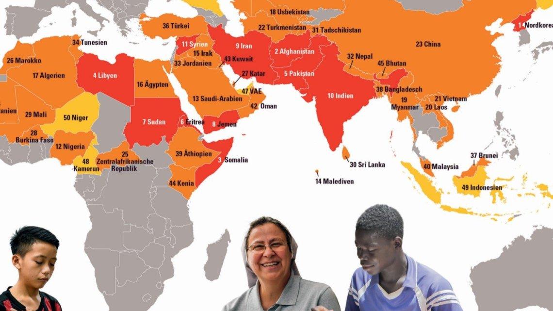 Alarmerende cijfers: het aantal extreem vervolgde christenen is gestegen tot 260 miljoen