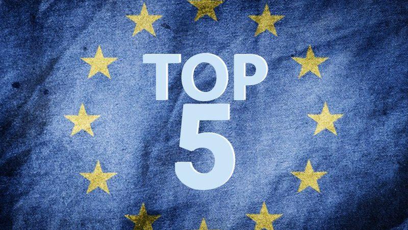 TOP-5 stijgende Europese politieke bewegingen om in de gaten te houden