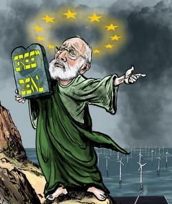 Knettergestoorde megalomane EU blijkt incompetent en wil DAAROM meer macht en geld. FVD gaat LOS