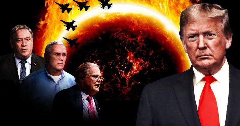 Evangelicals houden om vele redenen van Donald Trump, maar een daarvan is vooral angstaanjagend