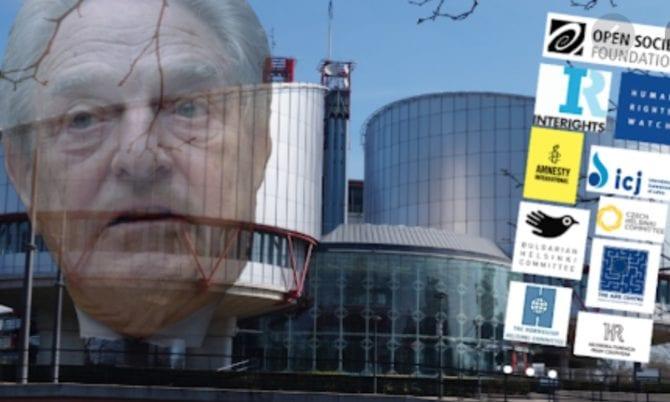 Europees Hof voor de rechten van de mens: Verzoek om onafhankelijkheid van Soros