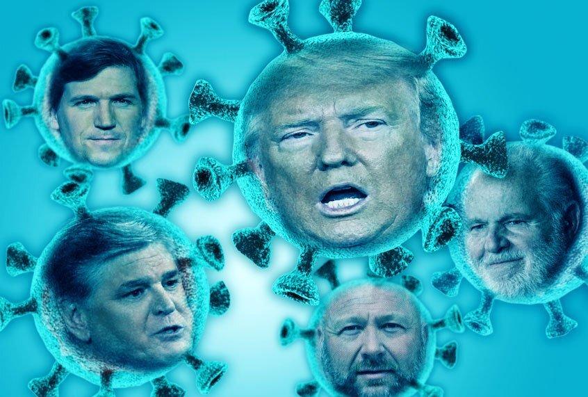Trump en zijn propagandisten zwaaien rond en grijpen naar belachelijke leugens – ze kunnen beter hun mond houden