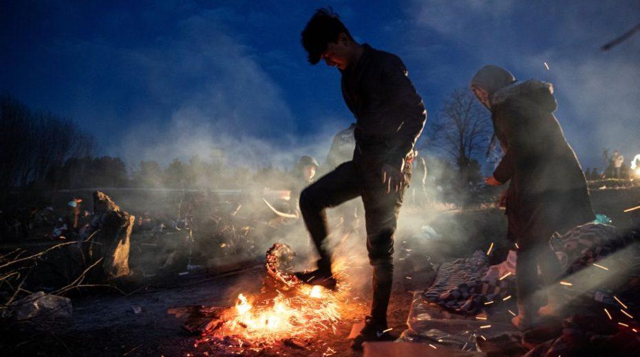 """Migratiecrisis  Turkse aankondiging: """"Nog maar het begin. Wat er tot nu toe is gebeurd, is niets. """""""