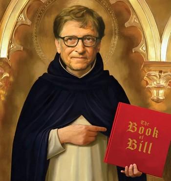 """De """"visionair"""" Bill Gates"""