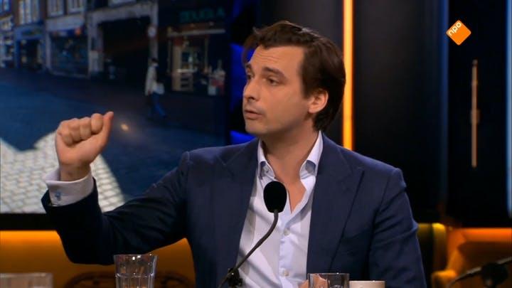 Privéjets en smeergeld: Thierry Baudet deed in OP1 zijn exitstrategie uit de doeken