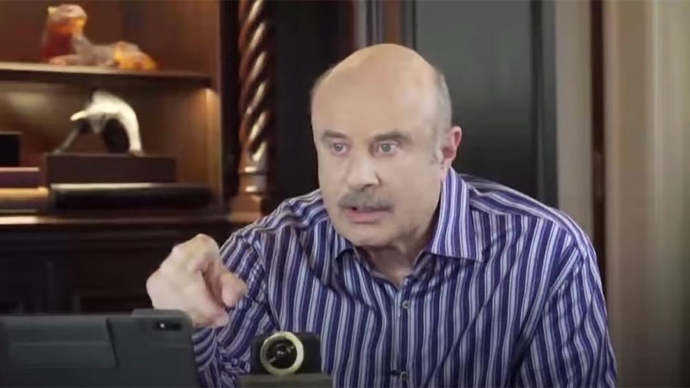 Dr.Phil sluit zich aan bij de idioten op Fox News, die misleidende onzin over het coronavirus uitspuugt, en beweert in wezen dat het allemaal een hoax is