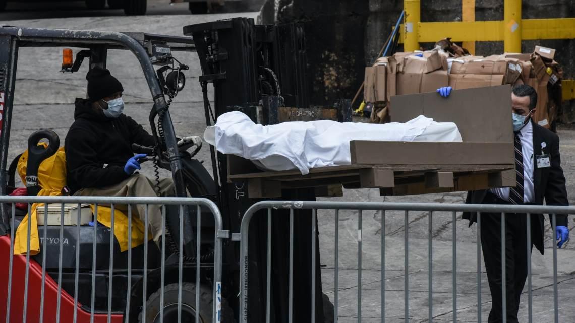 Plaatjes zeggen meer als woorden: Breng de doden naar buiten in New York City
