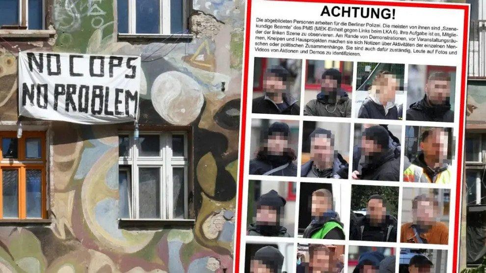 Berlijn: linkse extremisten zetten politieagenten op de zwarte lijst
