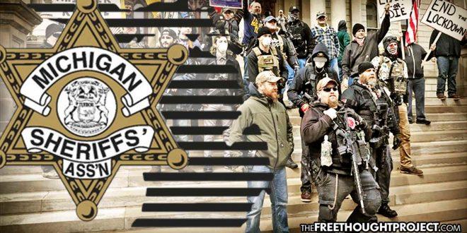 Terwijl de protesten in de VS toenemen, staan meerdere sheriffs openlijk tegen lockdown